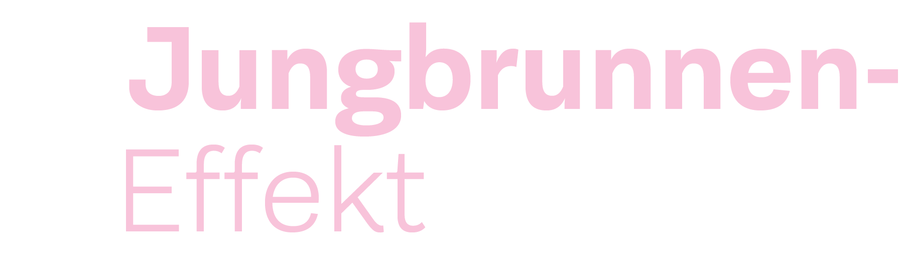 Jungbrunneneffekt